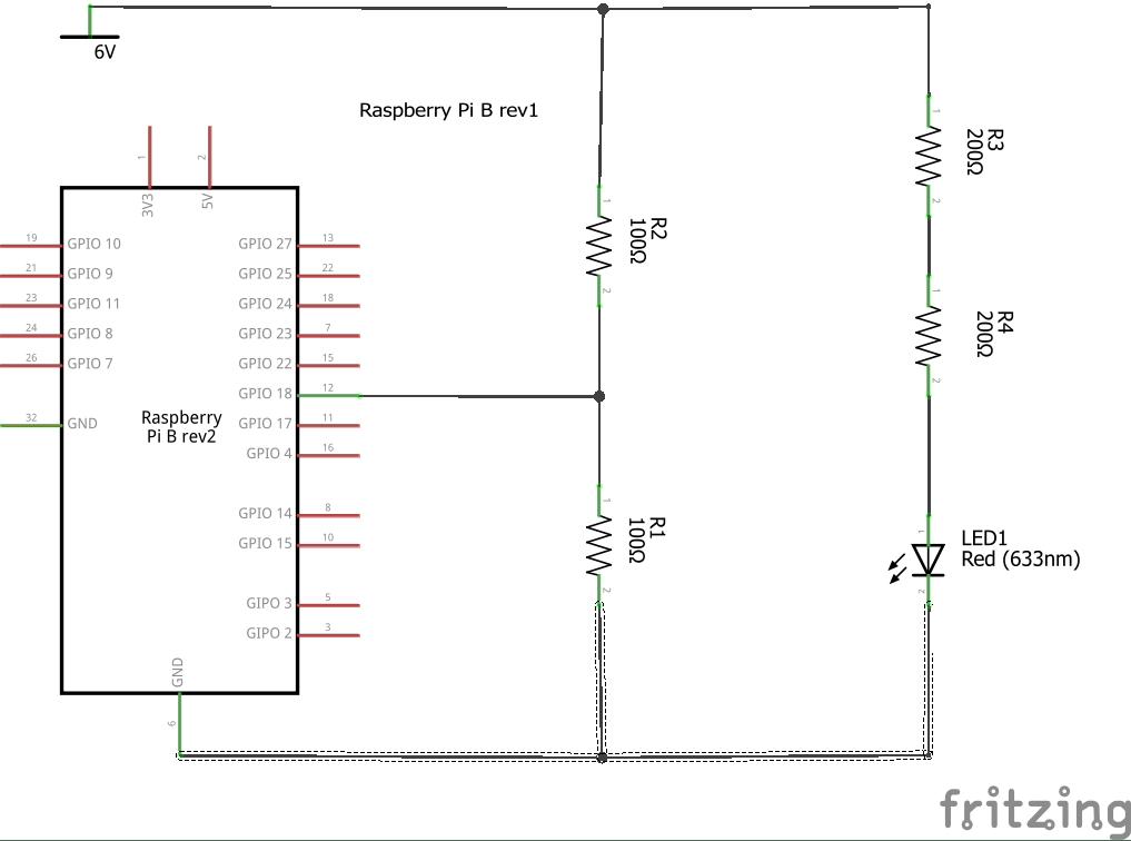 Raspberry Pi - Schaltplan und elektronische Planung