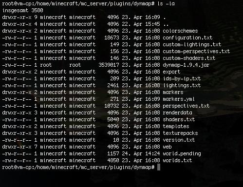 Minecraft Bukkit Server Dynmap Installieren Und Konfigurieren - Minecraft bukkit server unter linux erstellen