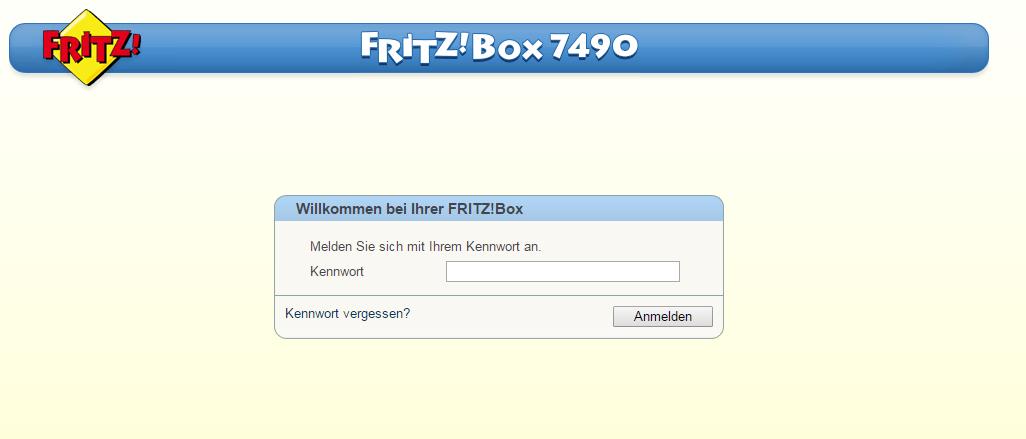 Fritzbox Auf Werkseinstellung Zurücksetzen 7490