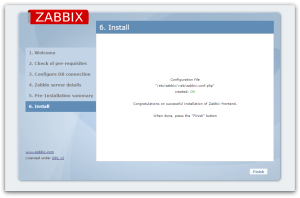 Zabbix-finish