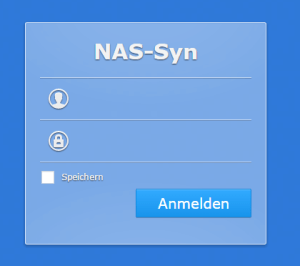 Synology-DS412-Login-Screen