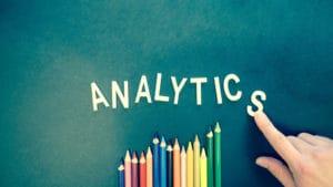 Stifte mit dem Schriftzug Analytics