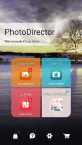 Bild einer App für Fotos