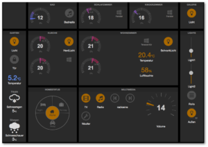 FHEM Tablet UI Frontend Beispiel
