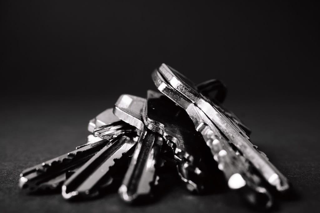 Docker Registry Titelbild - Schlüsselbund