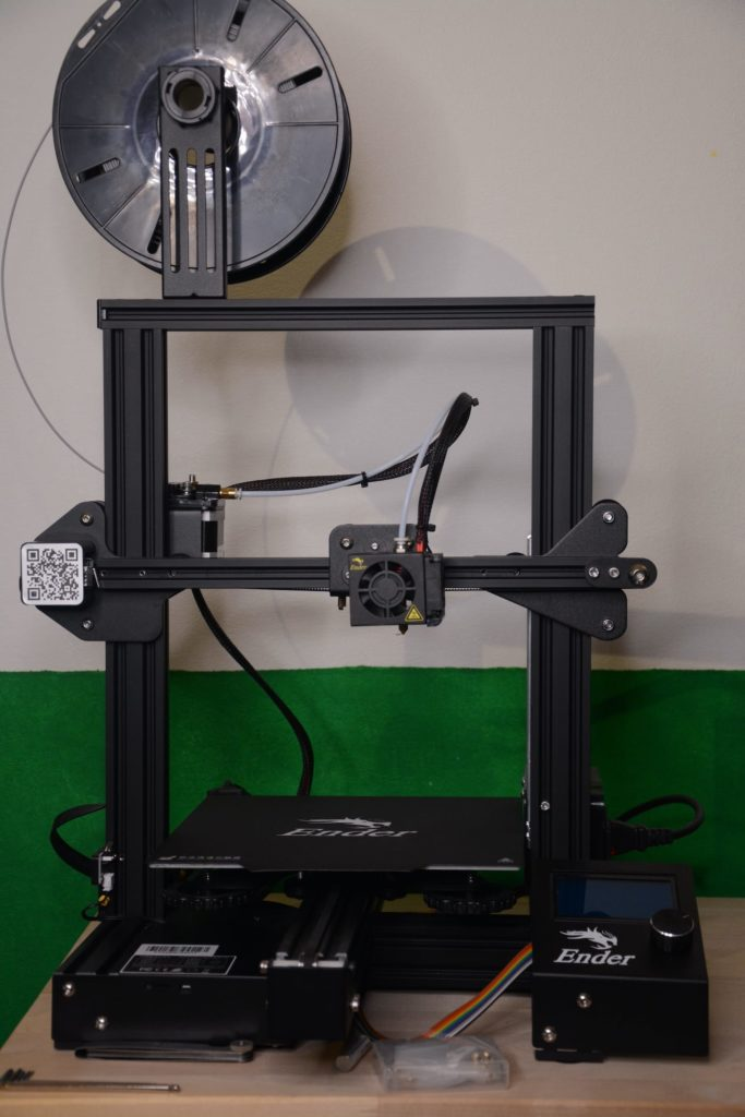 Foto eines aufgebauten Creality Ender 3 Pro